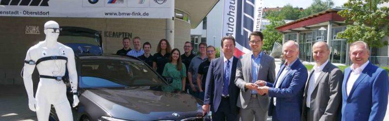 Neuer BMW für Hochschule Kempten