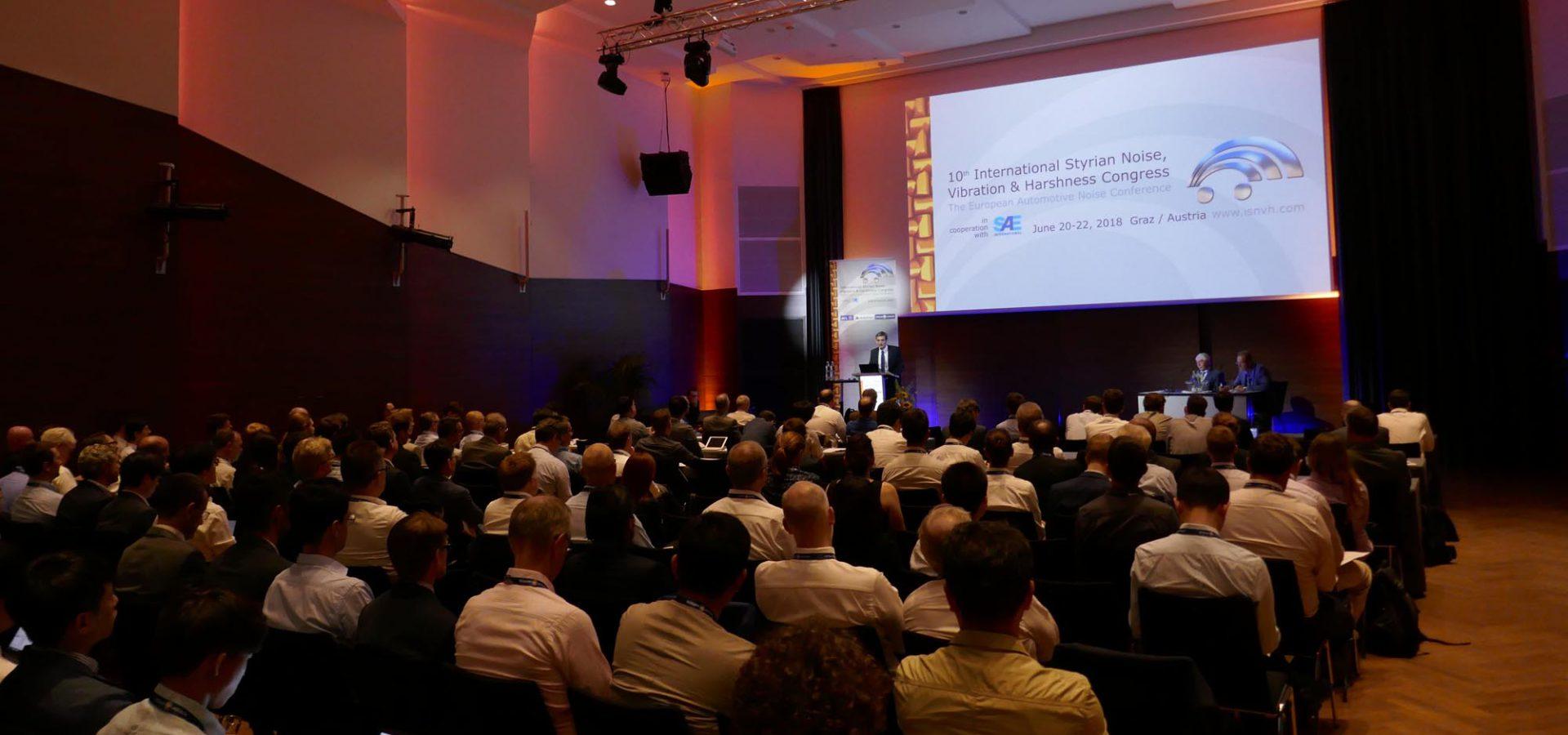 International Styrian Noise, Vibration & Harshness Congress 2020, Graz, Österreich