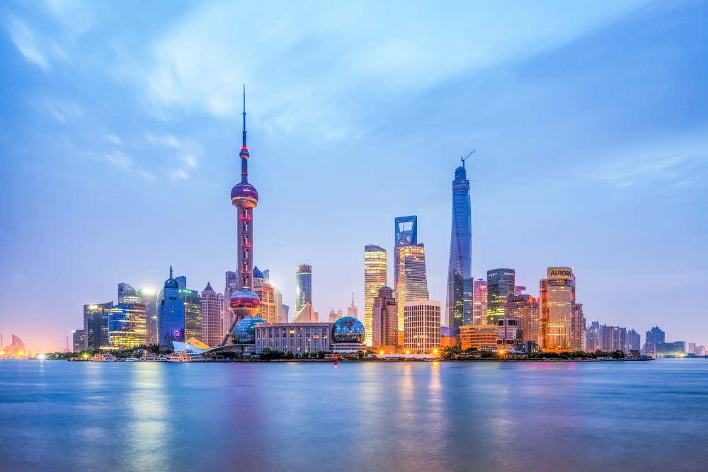 Skyline Shanghai, Vertretung Mdynamix auf Messen in China
