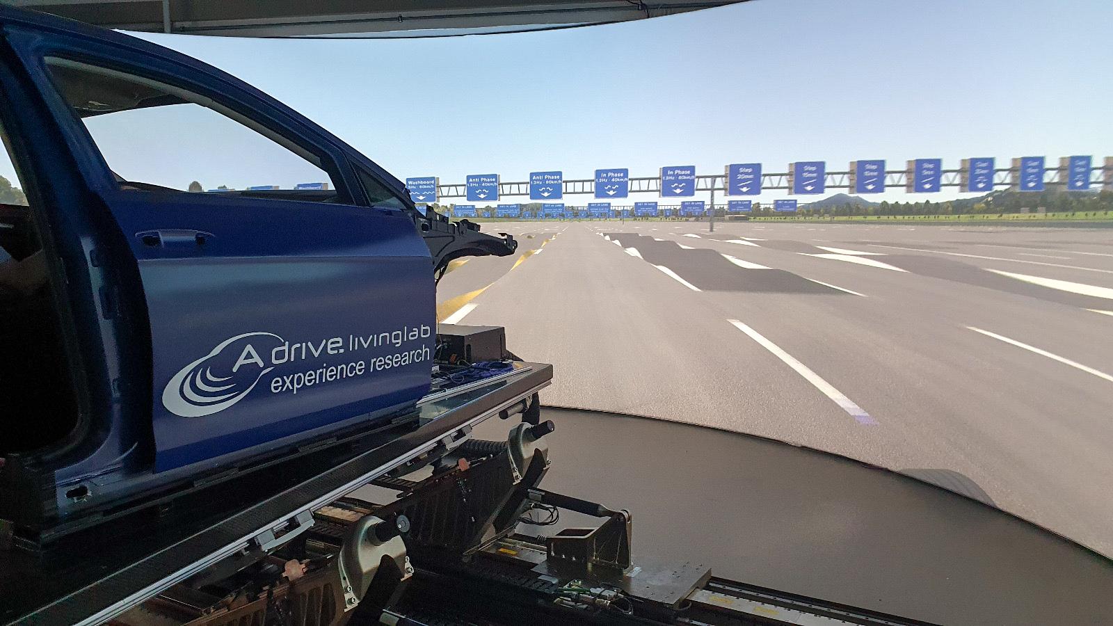 Fahrsimulator neues Cockpit, Fahrzeugkarosserie